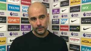 Pep pleased with response [Video]