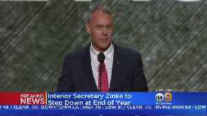 News video: Interior Secretary Ryan Zinke Will Leave Administration At End Of Year, Trump Says