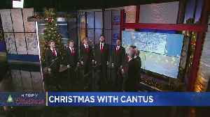 Vocal Ensemble Cantus Performs In Studio [Video]