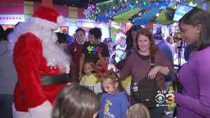 Children With Autism, Families Celebrate Holidays At Legoland Discovery Center [Video]