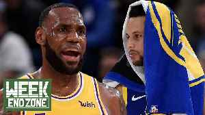 Steph Curry SHOCKS World With Moon Landing Claims! LeBron James Gets EMOTIONAL With D Wade! | WEZ [Video]