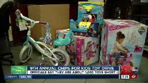 CHiPS for Kids Toy Drive in East Bakersfield [Video]