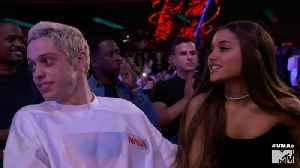 Ariana Grande Tweets Message Of Concern For Pete Davidson [Video]