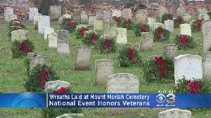 Wreaths Laid At Cemeteries Across Region, Nation To Honor Fallen Veterans [Video]