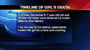 Guatemala Consulate Provides Timeline of 7-Year-Old Girl Who Died in Custody of Border Patrol