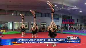 Mars Hill Cheerleaders to State Finals [Video]