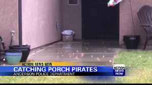 Catching Porch Pirates [Video]