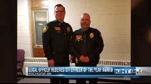 Local officer receives CIT Officer of the Year Award [Video]