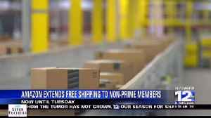 Amazon Extends Free Shipping for the Holidays and One Day Shipping [Video]