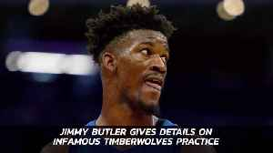 Jimmy Butler Of The Timberwolves Gives The Story On Practice Issues [Video]