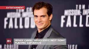The Word Is That Henry Cavill Will Continue As Superman [Video]