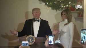 Presidential Trump And First Lady Melania Trump Host The Congressional Ball [Video]