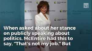 Reba McEntire Squashes Political Banter, Says it's Not Her Job To Talk Politics [Video]