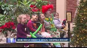 Boise Rescue Mission Christmas Banquet serves underprivileged in Treasure Valley