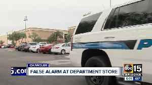 False report of active shooter at Chandler JCPenney [Video]