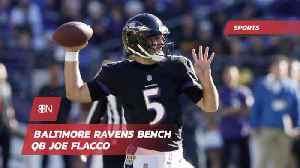 The Ravens Bench Their Quarterback [Video]