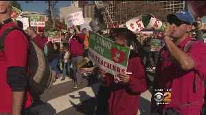 Thousands Of Teachers March In Downtown Los Angeles As Strike Looms [Video]