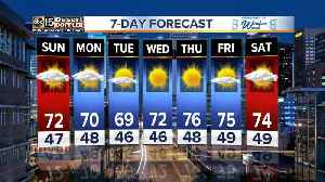 Temperatures to heat up in the Valley [Video]