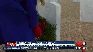 Wreaths Across America event held to remember veterans [Video]