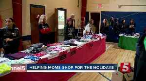 Helping hundreds of moms shop for the holidays [Video]