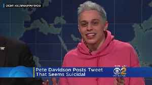 Pete Davidson Sparks Frenzy After Cryptic Post [Video]