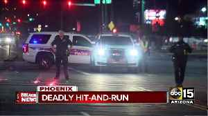 Skateboarder killed in hit-and-run crash near 19th Avenue and Dunlap in Phoenix [Video]