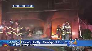 Large Fire Fueled By Gas In Vehicles At Highlands Ranch Home [Video]