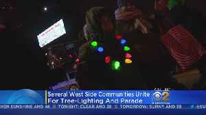 West Side Communities Unite With Police For Holiday Parade [Video]