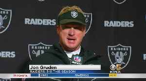 Raiders Post-Game: Coach Gruden Addresses the Media [Video]