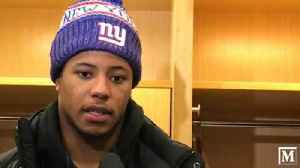 Saquon Barkley on the Giants' lack of a run game vs. Tennessee [Video]