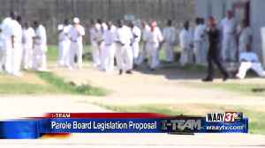 LAWMAKER PLANS TO INTRODUCE LEGISLATION THAT WOULD LIMIT THE PAROLE BOARDS POWER ON EARLY PAROLE HEA [Video]