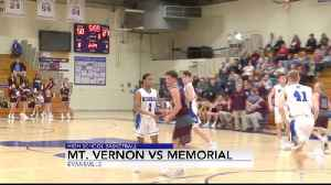 MEMORIAL BEATS MT VERNON BBB [Video]