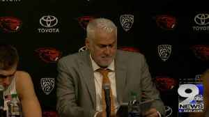 Web Extra: Oregon St. recaps loss to Texas A&M in Dam City Classic [Video]