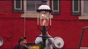 VIDEO: Gas Lights Aglow At The Colebrookdale Railroad [Video]