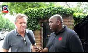 Piers Morgan Interview Pt 1 - Sorry Thierry But Bergkamp Is The Best Ever Arsenal Player !!! [Video]