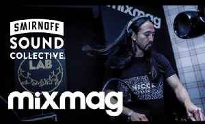 STEVE AOKI house set in The Lab @ the #SmirnoffHouse [Video]