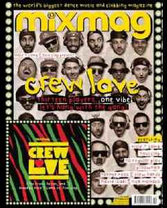 Crew Love Mixmag Cover CD October 2013 [Video]