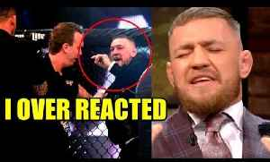 Conor McGregor apologizes for slapping commissioner at Bellator 187,Nate Diaz starts training camp [Video]