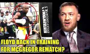 Floyd Mayweather back in training for Conor McGregor rematch?Paulie on Rematch rumors,Perry on Colby [Video]