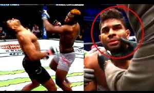 Ngannou's KO completely shut down Overeem he lost all his senses,Luke on GSP,Octagon [Video]