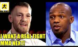Conor McGregor denies Boxing rumors-A True Fight is what i want to do next.MMA NEXT,Jon Jones [Video]
