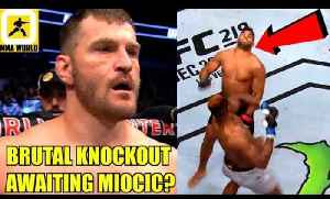 Francis Ngannou is going to KO Stipe Miocic in RD 1 in the most brutal fashion,Bisping,Octagon [Video]
