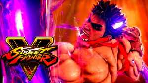 Street Fighter V: Arcade Edition - Official Kage Reveal Trailer [Video]