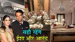 INSIDE PICTURES Of Isha Ambani New Home After Marriage [Video]