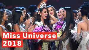 Miss Universe 2018 Winner: Philippines's Catriona Gray Wins Crown [Video]