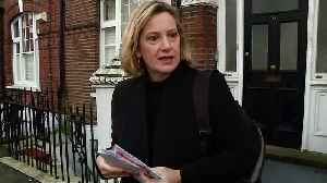 Amber Rudd: We need to get agreement through Parliament [Video]