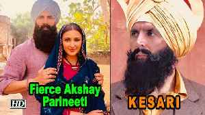KESARI | Fierce Akshay - Parineeti FIRST LOOK | Karan Johar [Video]
