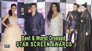 Best & Worst Dressed at the STAR SCREEN AWARDS [Video]