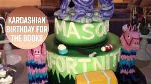 Mason Disick's Fortnite party is a gamer's dream [Video]