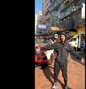 News video: Money for nothing? Cash falls from the sky in Hong Kong stunt